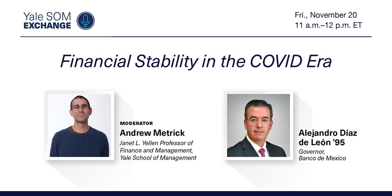 [WEBINAR] Financial Stability in the COVID Era Event Logo
