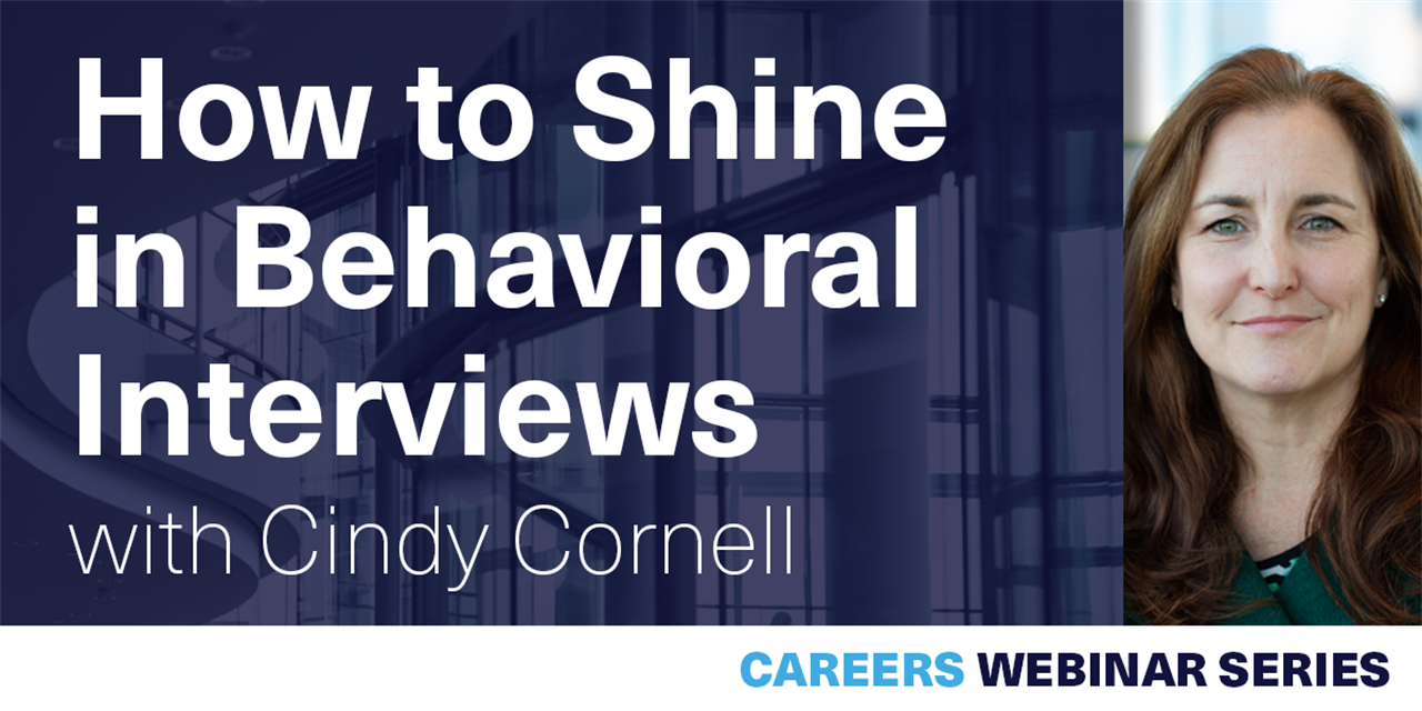 [WEBINAR] How to Shine in Behavioral Interviews Event Logo