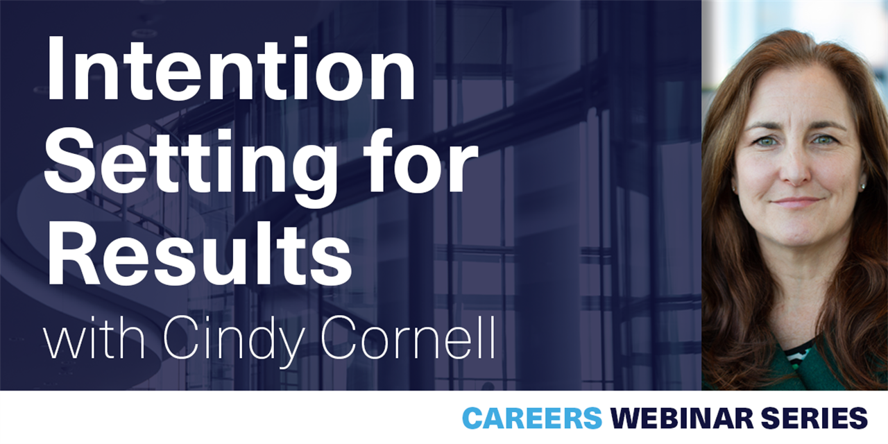 [WEBINAR] Intention Setting for Results Event Logo