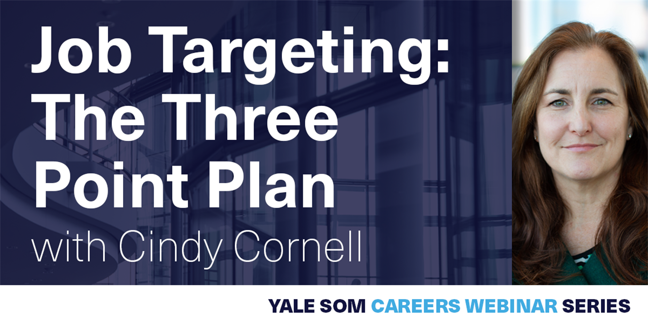 [WEBINAR] Job Targeting: The Three Point Plan Event Logo