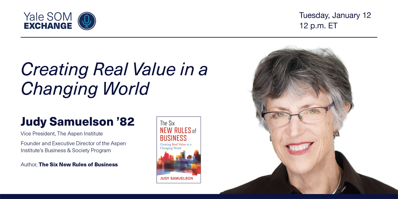 [WEBINAR] Creating Real Value in a Changing World Event Logo