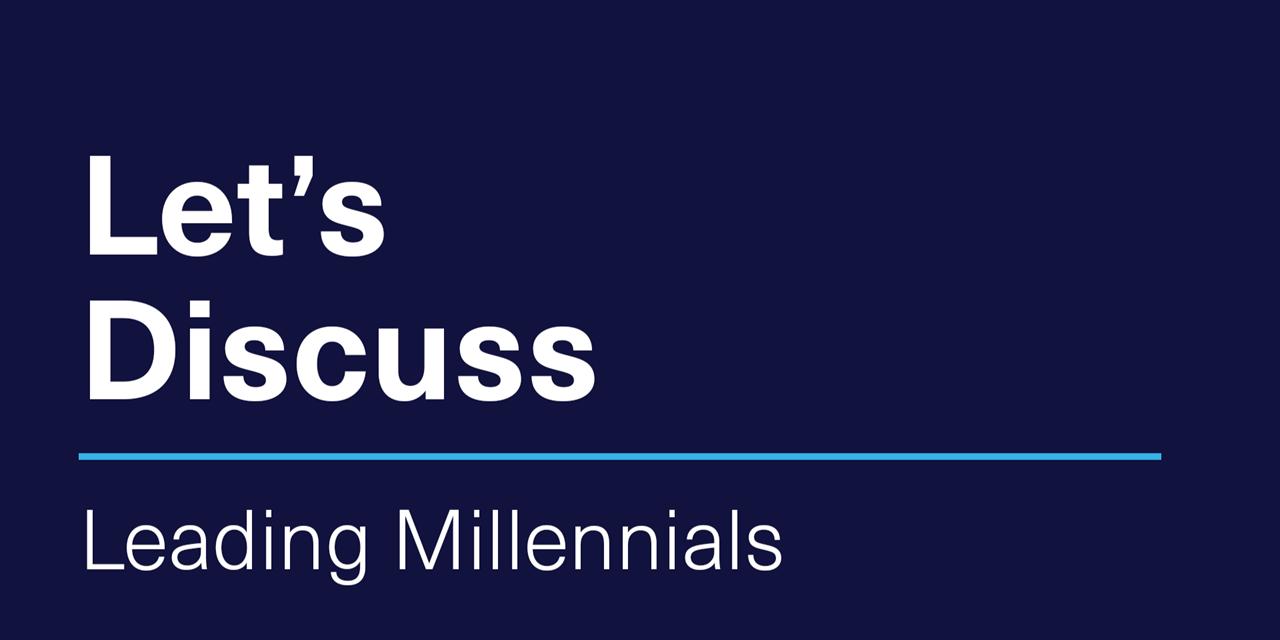 [VIRTUAL] Let's Discuss | Leading Millennials Event Logo