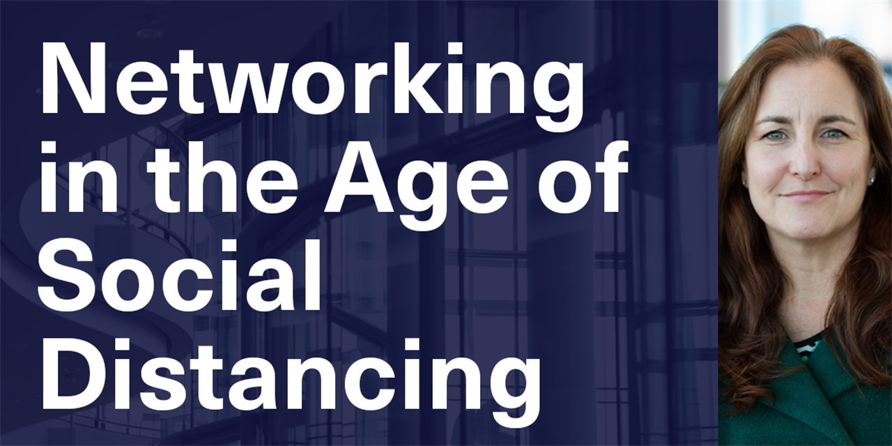 [WEBINAR] Networking in the Age of Social Distancing Event Logo