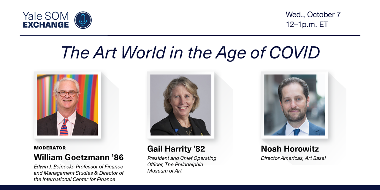 [WEBINAR] The Art World in the Age of COVID Event Logo