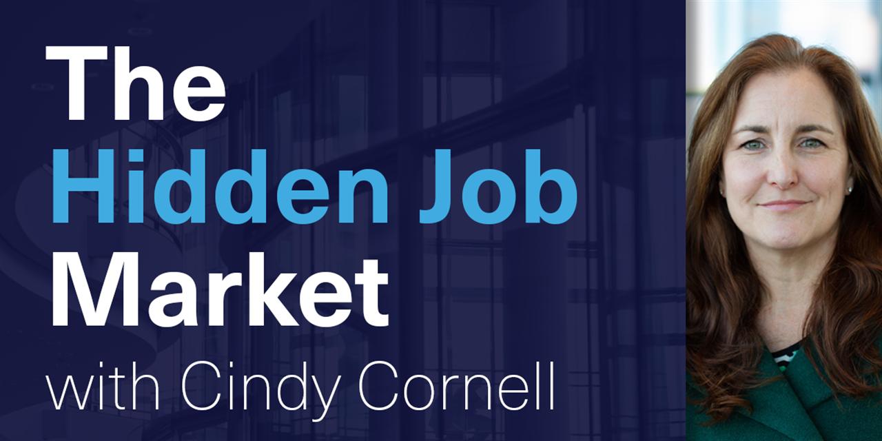 [WEBINAR] The Hidden Job Market with Cindy Cornell Event Logo