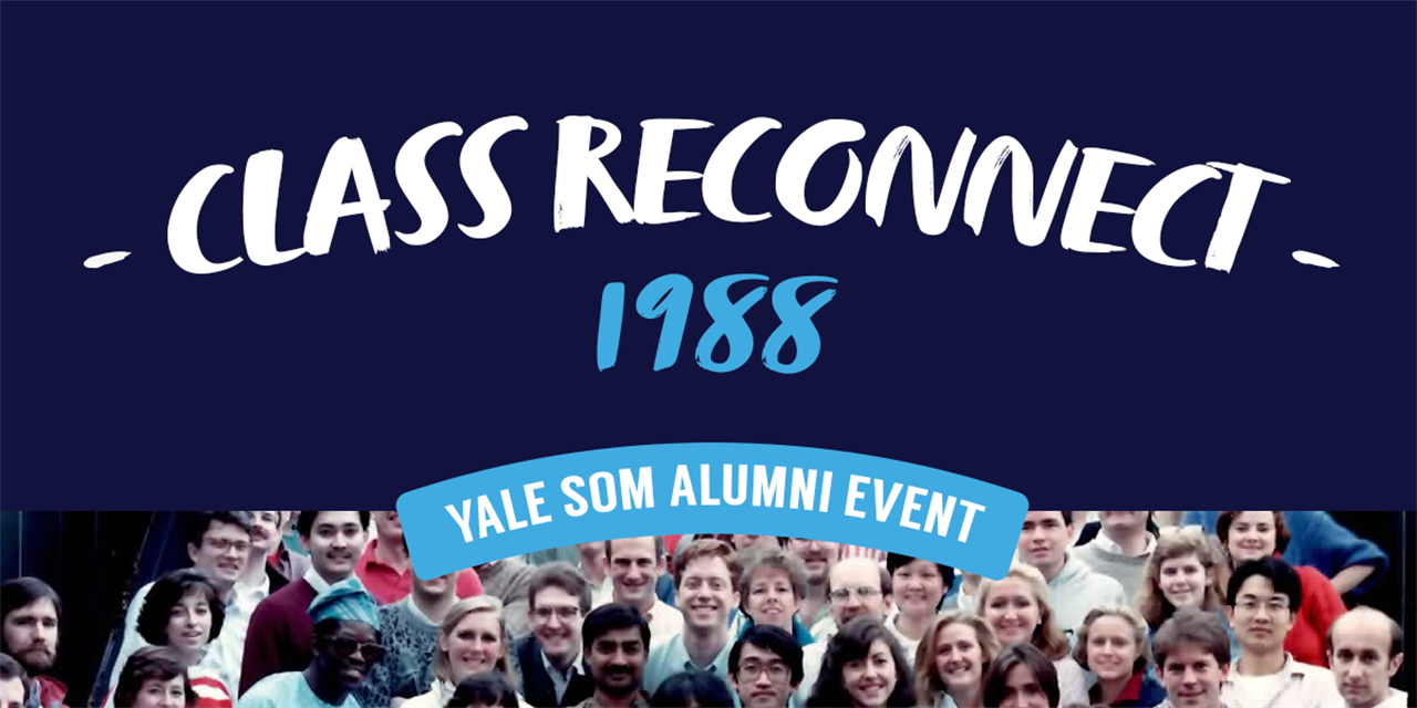 [VIRTUAL] Class of 1988 Reconnect: Thriving in Retirement Event Logo