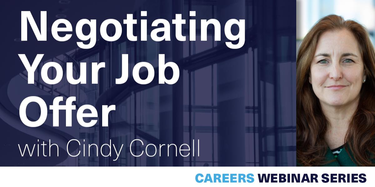 [WEBINAR] Negotiating Your Job Offer Event Logo