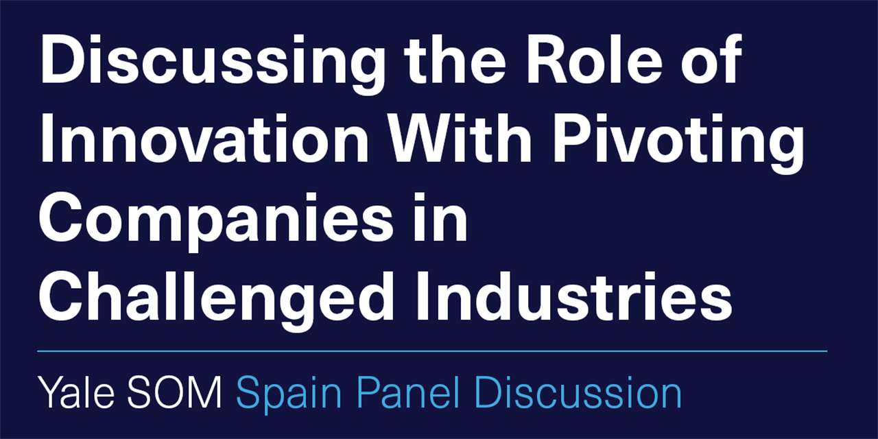 [VIRTUAL] Discussing the Role of Innovation With Pivoting Companies in Challenged Industries Event Logo